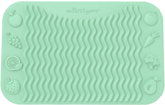 Finger Foods Placemat - Mint