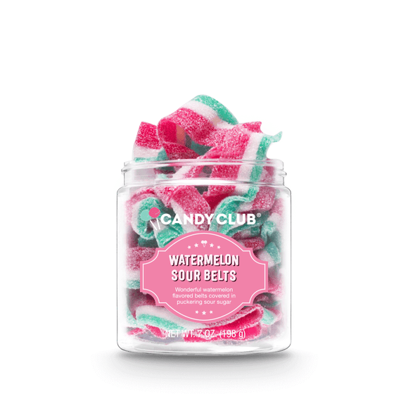 Candy Club - Watermelon Sour Belts