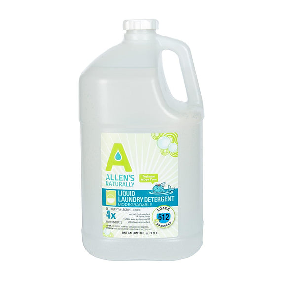 Allens Naturally Liquid Laundry Detergent Gallon (local pick up only) - ECOBUNS BABY + CO.