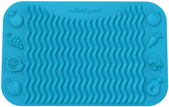 Finger Foods Placemat - Blue