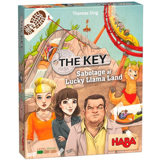 HABA The Key - Sabotage at Lucky Llama Land