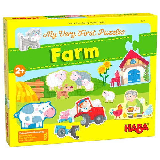 HABA  My Very First Puzzles - Farm