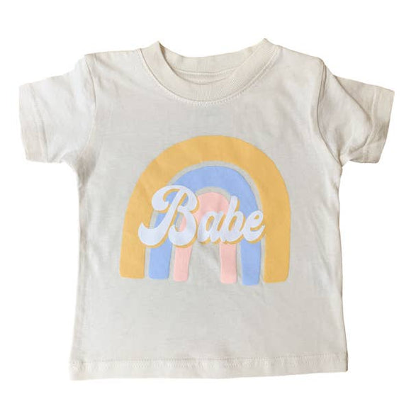 Mom Culture - Rainbow Babe Tee
