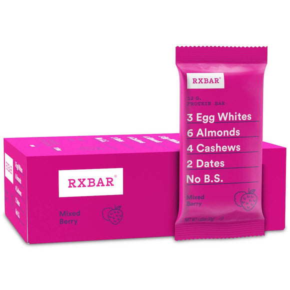RXBAR - RXBAR Mixed Berry Protein Bar