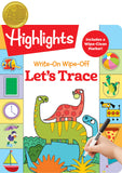 Highlights Write-on Wipe-off Let's Trace