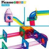PicassoTiles 120pc Marble Run