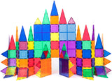 PicassoTiles - 101 Piece 3D Magnetic Building Blocks