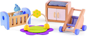 Hape Doll House Baby's Room - ECOBUNS BABY + CO.