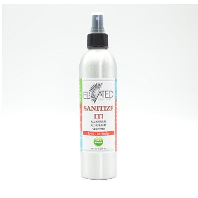 Elevated - Sanitize It! Natural Household Sanitizer - Citrus - 9 oz