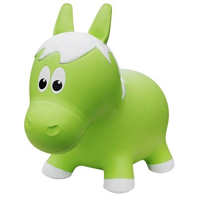 Farm Hoppers Jumping Animals - Green Horse