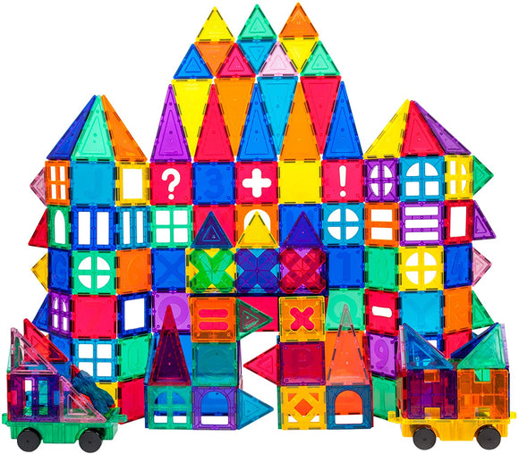 PicassoTiles - 180 Piece Deluxe Combo Toy Set