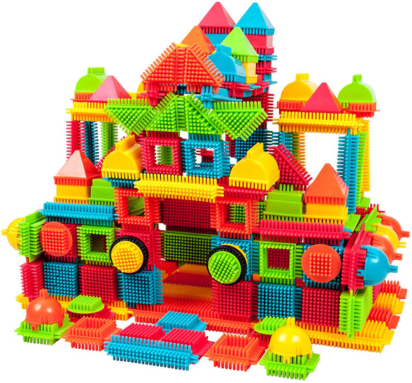 PicassoTiles Bristle Shape Blocks 240pc Construction Set