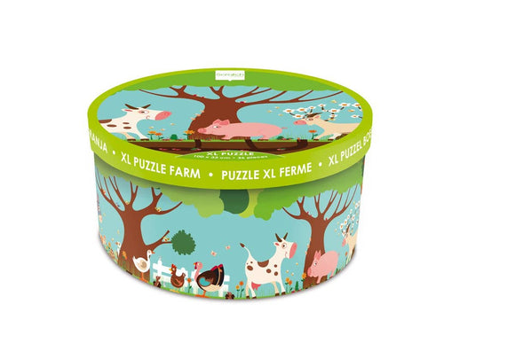 Scratch Europe - Floor Puzzle Farm 36 pcs