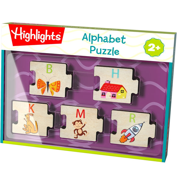 Highlights Alphabet Wooden Puzzle