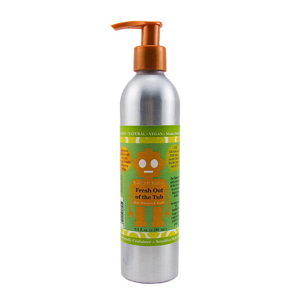 BALM! Baby - FRESH out of the TUB Baby Wash & Shampoo plus Bubble Bath - ECOBUNS BABY + CO.