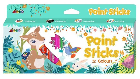 Scratch Europe - Paint Sticks: 12 Colors