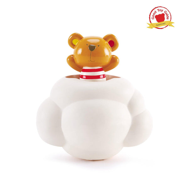 Hape Pop-Up Teddy Shower Buddy - ECOBUNS BABY + CO.