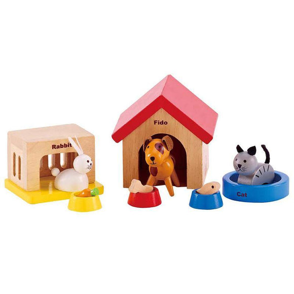 Hape Doll House Family Pets - ECOBUNS BABY + CO.