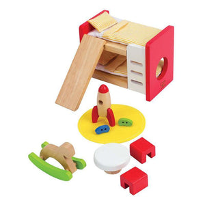 Hape Doll House Children's Room - ECOBUNS BABY + CO.