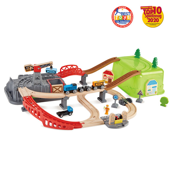 Hape Railway Bucket-Builder Set