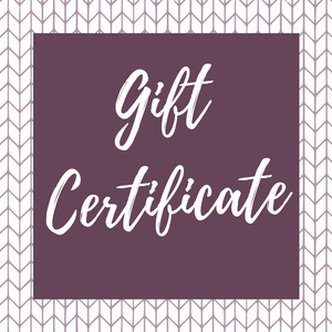 ECOBUNS BABY + CO. Gift Certificate
