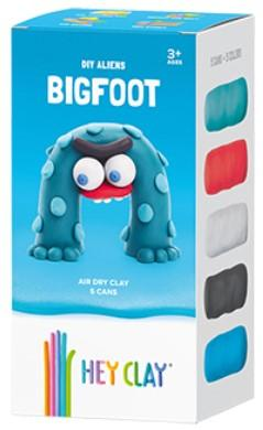 Fat Brain Hey Clay Claymates - Bigfoot