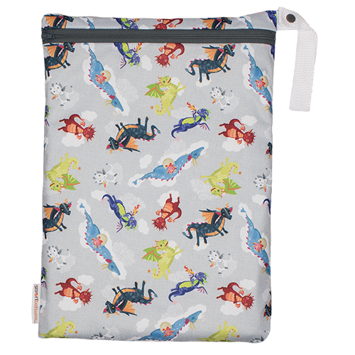 Smart Bottoms On The Go Wet Bag - Dragon Dreams - ECOBUNS BABY + CO.