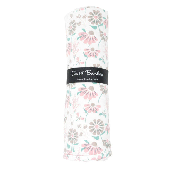 Sweet Bamboo - Swaddle - Retro Flower