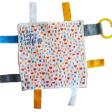 "Baby Jack and Company Crinkle Sensory Square 8""x8"" - Kindness"
