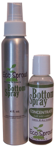 Eco Sprout Bottom Spray Concentrate with Spray Bottle - French Lavender