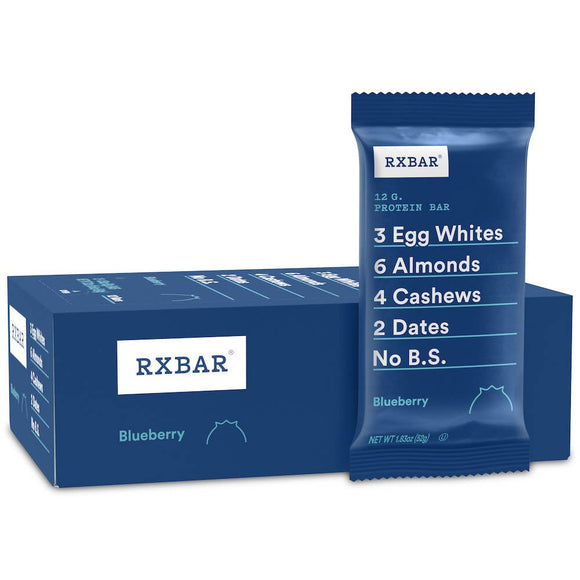 RXBAR Blueberry Protein Bar (single bar)