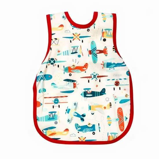 Bapron Baby - Retro Airplanes Bapron - ECOBUNS BABY + CO.