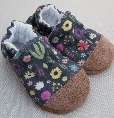 Snow and Arrows Cotton Slippers - Calico Floral