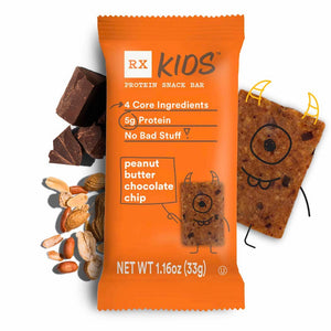 RX Kids Peanut Butter Chocolate Chip (single bar)