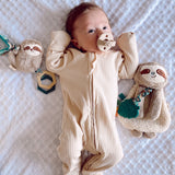 Itzy Ritzy - Ritzy Jingle™ Sloth Attachable Travel Toy