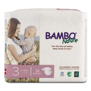 Bambo Nature Disposable Diapers - Size 3 - ECOBUNS BABY + CO.