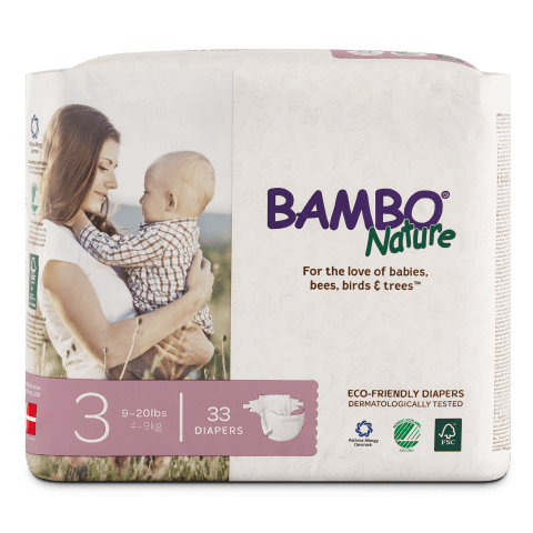 Bambo Nature Disposable Diapers - Size 3