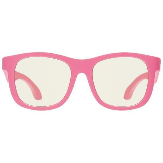 Babiators Blue Light Glasses - Think Pink Navigator - ECOBUNS BABY + CO.