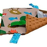 "Baby Jack and Company Crinkle Sensory Square 8""x8"" - Forest"