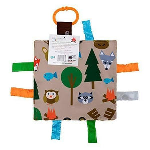 "Baby Jack and Company Crinkle Sensory Square 8""x8"" - Forest - ECOBUNS BABY + CO."