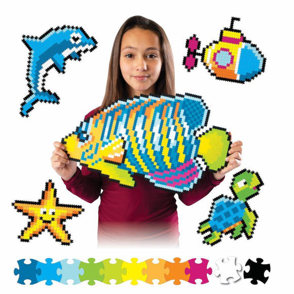 Fat Brain Jixelz 1500 pc set - Under the Sea - ECOBUNS BABY + CO.