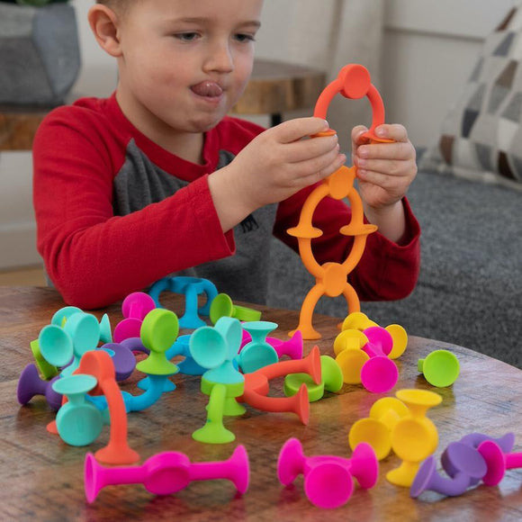 Fat Brain Squigz 2.0 (36 Pieces) - ECOBUNS BABY + CO.