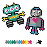 Fat Brain Jixelz 700 pc set - Roving Robots