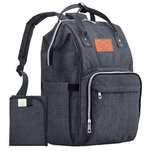 KeaBabies - Original Diaper Backpack (Mystic Gray)