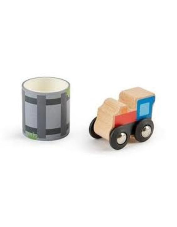 Hape Tape and Roll Train