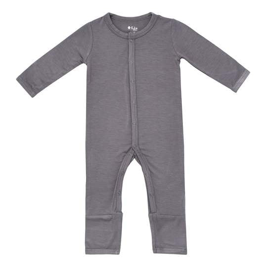 Kyte Baby Snap Romper - Charcoal