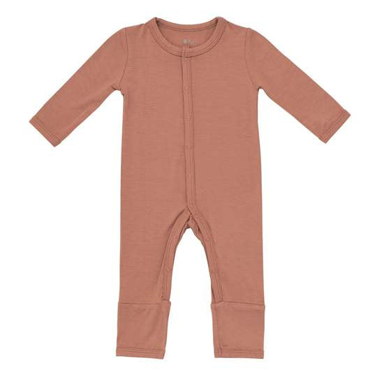 Kyte Baby Snap Romper - Spice
