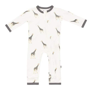 Kyte Baby Zippered Romper - Giraffe