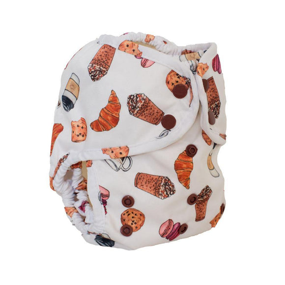 Buttons Diapers Super Cover - Coffee Break