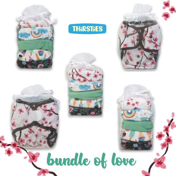 Thirsties Duo Wraps - Bundle of Love